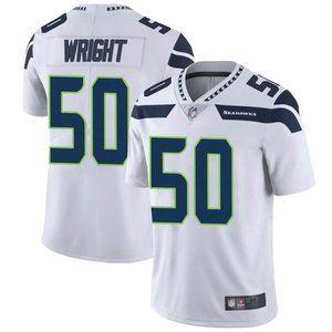Seahawks K.J. Wrigh White Jersey